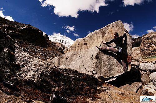 Boulderingová aklimatizace
