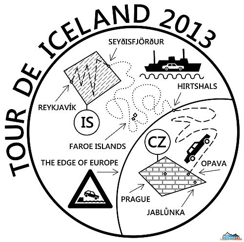Návrh trička Island