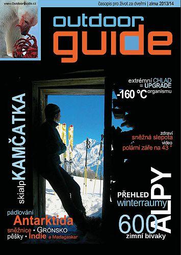 Titulní strana časopisu OutdoorGuide - speciál Zima 2013-2014