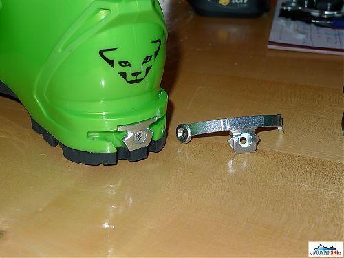 Pro nové vázání Beast 16 je nutné vyměnit klasickou úpravu paty boty za rozšířenou