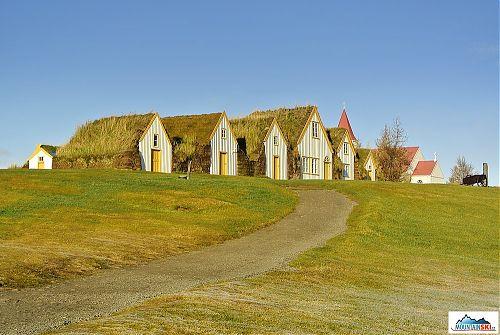 Glaumbaer – jedna z nejzachovalejších tradičních islandských farem