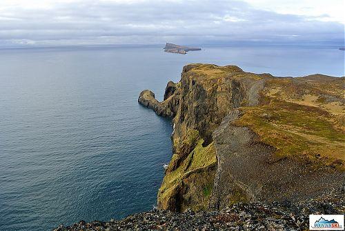 Pohled na ostrov Málmey, kde vám společnost nedělá už ani bělokur