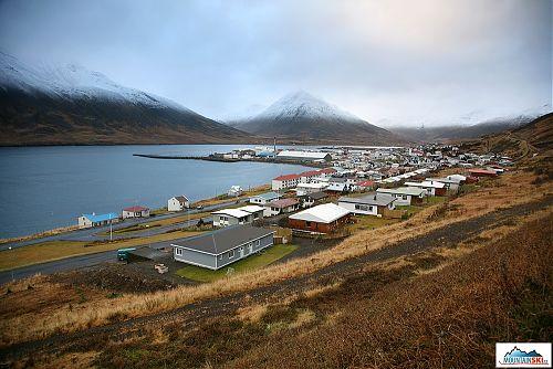 Rybářské město Siglufjördur