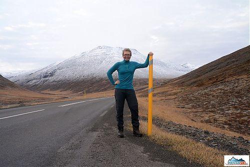 Průměrná výška islandských sněžníků