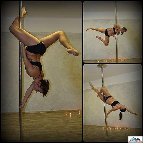 Pole dance - koordinace a síla v harmonii