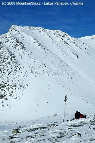 Terény na lyžování jsou vokolí chaty Rondvassbu pěkné
