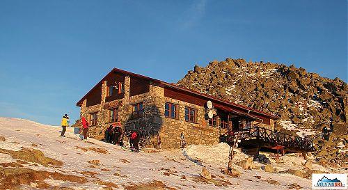 Sněhová realita u Kamenné chaty 21. 12. 2013