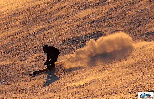 Když se práší od lyží
