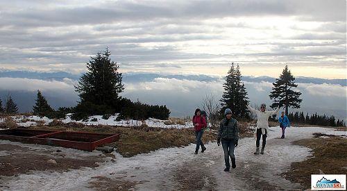 Jsme tady - Kamčatský výlet do Evropy za sněhem v době, kdy jsou na Kamčatce dva metry sněhu