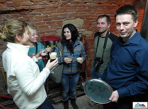 Prohlídka minipivovaru Černý orel s odborným cizojazyčným výkladem - díky Borisovi Zubíkovi