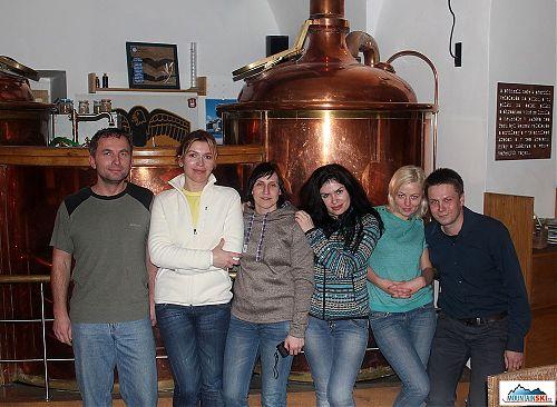 Minipivovar Černý orel v Kroměříži