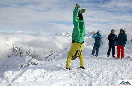 Další foto do sbírky, tentokrát z 2686 metrů vysokého vrcholu Kreuzkogel nad Sportgasteinem