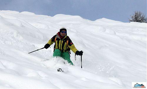 Skier: palič, lokalita: Livigno