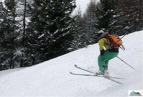 Skier: palič, styl motýl, lokalita: Livigno