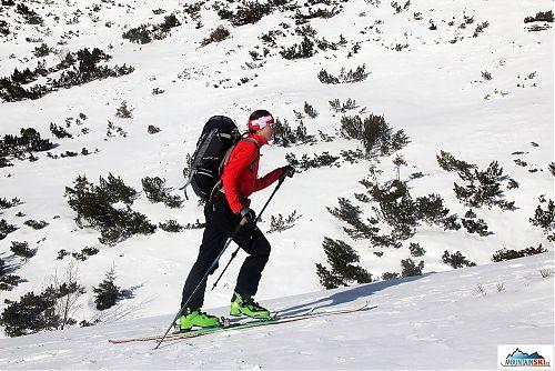 Slunečné počasí a tvrdý sníh - sobota 25. 1. 2014 v Žiarské dolině