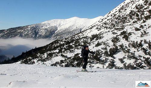 Parádní počasí - na horách slunečno a v údolích mlha