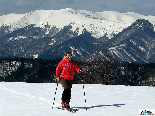 Pánsky diel ponúka banskobystričanom dobrý tréningový terén na lyžovanie a ešte aj s krásnymi výhľadmi na celý masív Krížnej