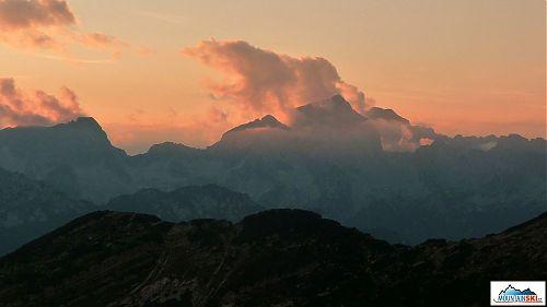 Západ slnka na Zasavskej koči