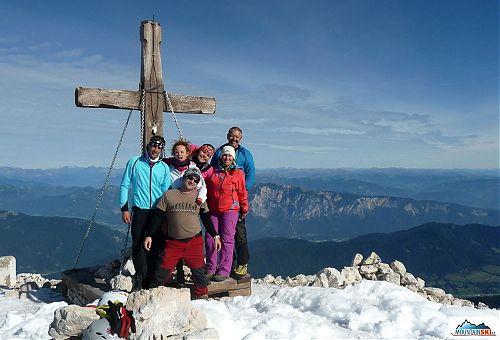 Vrcholovka, na Mangarte - 2679 m