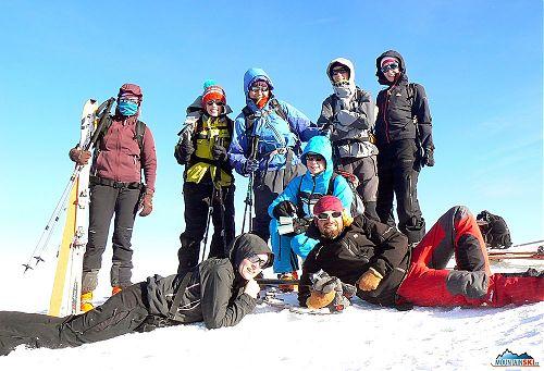 Schneeberg – umíme se usmívat i na vrcholu
