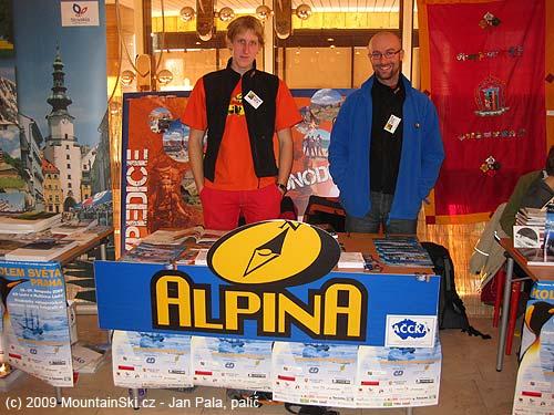 Travel agency CK Alpina in KD Ládví