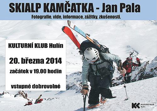Pozvánka na promítání Skialp Kamčatka - Jan Pala