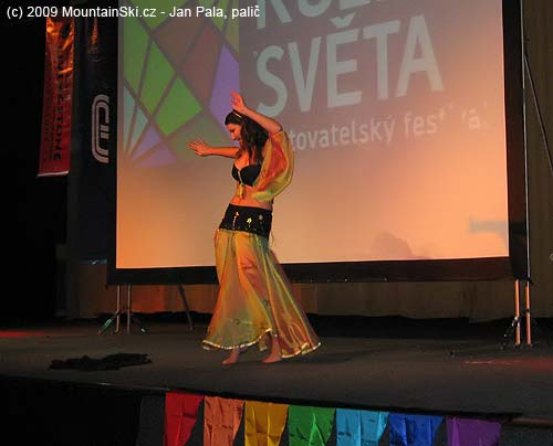 There were also some dancing during festival Kolemsveta