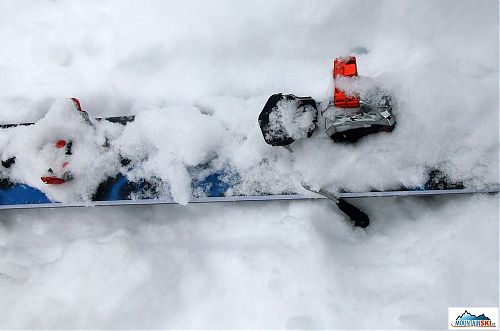 G3 ION připraven ke sjezdu - bulharský sníh je všude