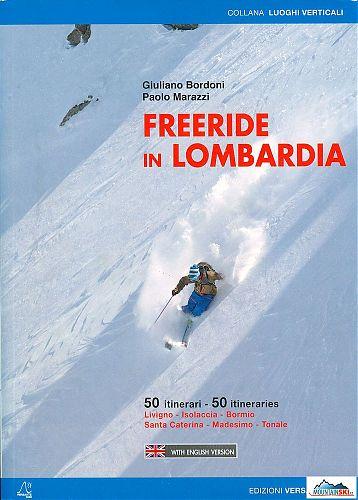 Titulní stránka průvodce Freeride in Lombardia