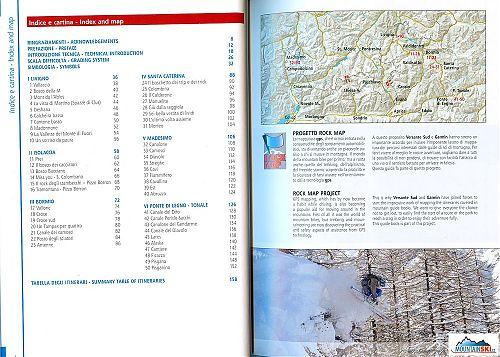 Průvodce Freeride in Lombardia - přehled popsaných freeridových sjezdů