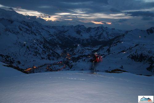 Bruder v akci - noční sjezd do Obertauernu bez čelovek