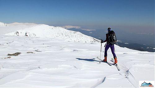 Výhledy z vrcholové planiny směr centrální Rila