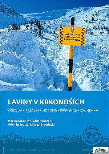 REPRO: (c) www.krnap.cz Titulní stránka knihy Laviny v Krkonoších
