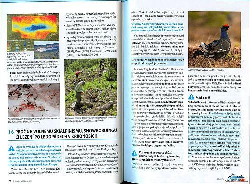 REPRO: (c) www.krnap.cz Mnohdy je slyšet námitku, že pod sněhem nelze nic poškodit - opak je pravdou - z dalšího popisu vyplývá, že k lyžím tam vlastně nic není
