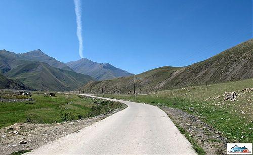 Horské plato ve výšce přes 1700 metrů
