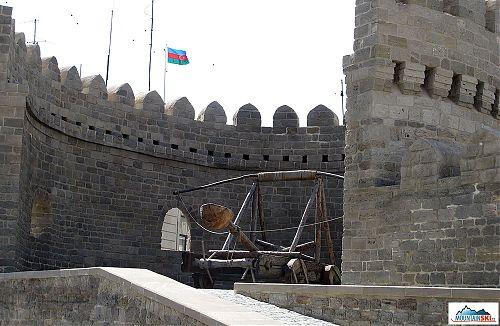 Stará část Baku