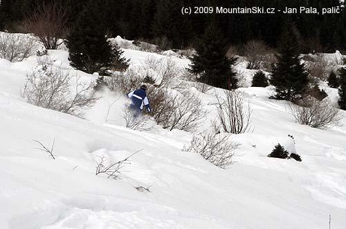 Keříkování na lyžích