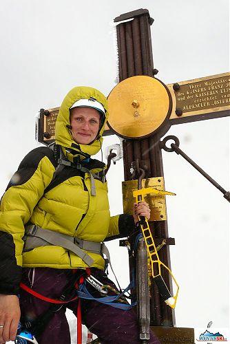 Na vrcholu Grossglockneru s vsetínskou pticou