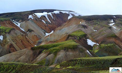 Ryolitové hory vznikly během obří sopečné erupce