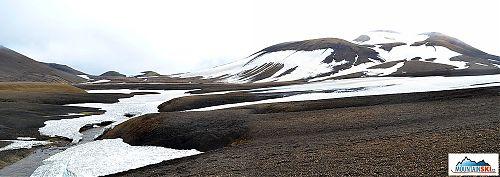 Sníh tu na horách vydrží téměř celoročně