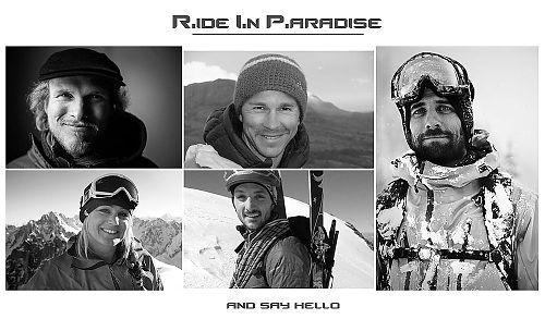 Rest in Peace and Ride In Paradise: Shisha Pangma - Andrea Zambaldi a Sebastian Haag, Monte San Lorenzo - Andreas Fransson a J.P. Auclair, Cerro Vespignani - Liz Daley