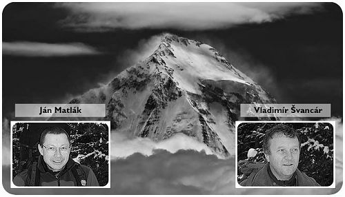 Ján Matlák and Vladimír Švancár died in the avalanche that fell to base camp of Dhaulagiri