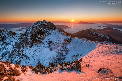 Východ Slnka na Veľkom Rozusci – autor Pali Balaj (https://www.facebook.com/planetpali)