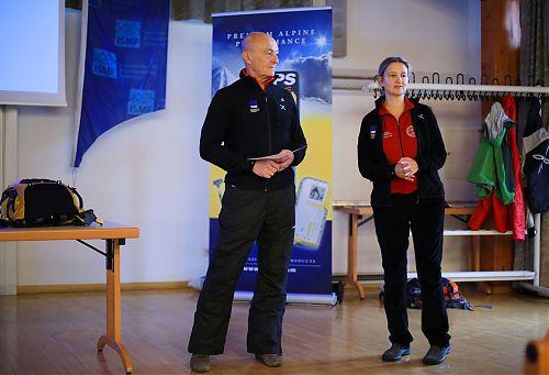 Prezident ISMF Armando Mariotta a víceprezidentka ISMF Rebecca Vernon, foto: Willi Seebacher