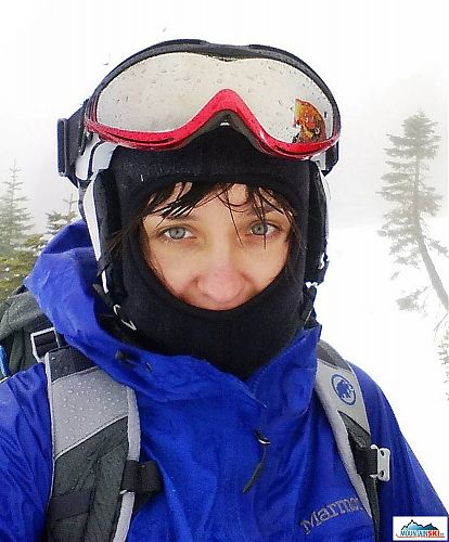 Rain, snow and fog - out first trip to Mt. Shasta