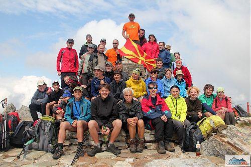 Ve výšce 2601 metrů nad mořem v pohoří Pelister