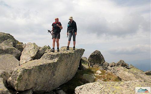 Vyhlídková Rocky Trail v pohoří Pelister