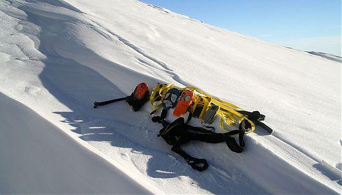 Starší lavinové vyhledávače ve společnosti Pieps Freeride