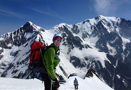 Fantastické alpské scenérie během Haute Route
