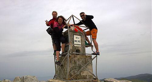 Trojice průvodců na nejvyšší hoře - Musala
